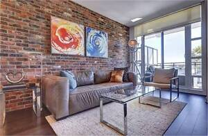 ** Loft In The Very Sought After Showcase Lofts In Leslieville**