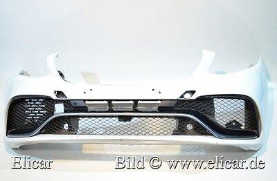 Mercedes Stoßfänger Bumper vorne +P GLE 63AMG W166 Facelift Mopf