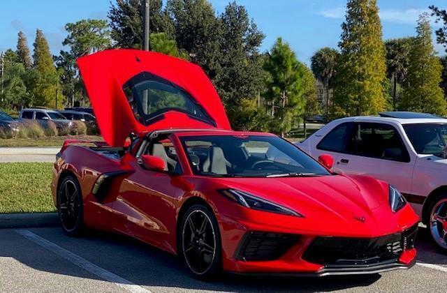 2020 Red Chevrolet Corvette  1LT | C7 Corvette Photo 4