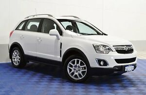 2013 Holden Captiva CG MY13 5 LT (AWD) White 6 Speed Automatic Wagon Morley Bayswater Area Preview