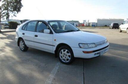 1995 Toyota Corolla AE101R Advantage Seca White 4 Speed Automatic Liftback Epping Whittlesea Area Preview