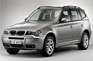 Wanted 2010 BMW X3 SUV, Crossover with a manual transmission