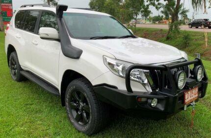 2015 Toyota Landcruiser Prado KDJ150R MY14 GXL White 5 Speed Automatic Wagon Berrimah Darwin City Preview