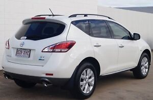 2013 Nissan Murano Z51 Series 3 ST Ivory Pearl 6 Speed Constant Variable Wagon Bundaberg Central Bundaberg City Preview