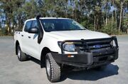 2012 Ford Ranger PX XL Double Cab White 6 Speed Manual Utility Stapylton Gold Coast North Preview