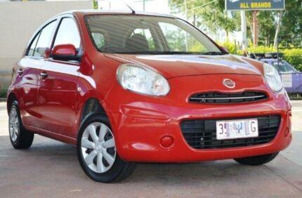 2010 Nissan Micra K13 ST Red 4 Speed Automatic Hatchback Parramatta Parramatta Area Preview