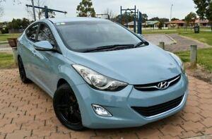 2013 Hyundai Elantra MD2 Elite Blue 6 Speed Sports Automatic Sedan Ingle Farm Salisbury Area Preview