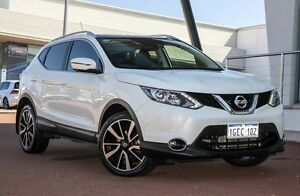 2014 Nissan Qashqai J11 TL Ivory Pearl 1 Speed Constant Variable Wagon Wangara Wanneroo Area Preview