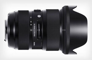 Sigma Art 24-35mm f2 for Canon won't last long!
