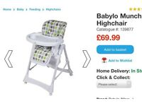 Highchair/ baby seat/ feeder