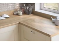 Worktop Offcut - Egger Natural Hickory Laminate Worktop x3 lenghts available