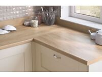 Worktop Offcuts - Egger Natural Hickory Laminate Worktop x3 available