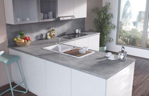 Egger boston concrete 38mm laminate kitchen bathroom for Kitchen units materials