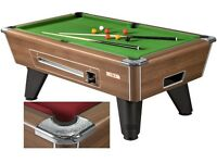 pool and snooker tables new and refurbished all sizes cues cases balls lighting and accessories