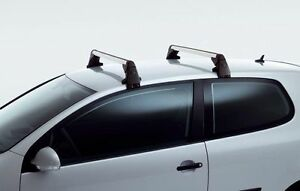 Volkswagen Roof Racks / Base Carriers (black&silver0