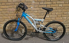 Men's/Boy's AMMACO BULL'S EYE Mountain Bike With Disc Brakes In Good Condition