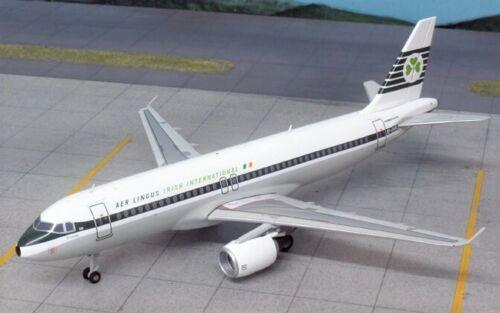 Inflight IF320001 Aer Lingus Airbus A320-200 Retro EI-DVM Diecast 1/200 Model