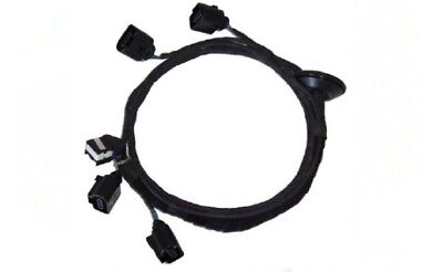 Cable Set Cable Loom Pdc Parking Sensor Retrofitting for Skoda Fabia 2 II 5J