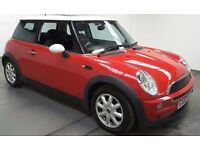 mini one low milage sun roof ect service history