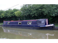 Beautiful 50' narrow boat
