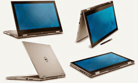 New Dell Inspiron 15-5000, Intel Core i5-7200U, 8Gb RAM, 256Gb SSD, 15.6 inch FHD Touchscreen 2-in-1