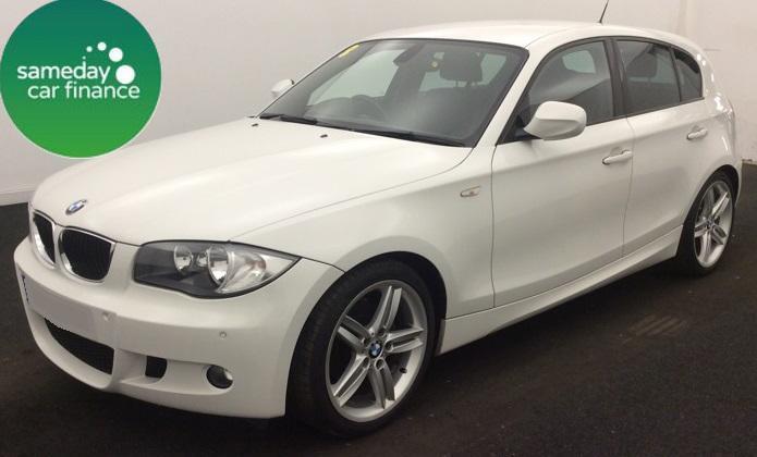 £206.10 PER MONTH WHITE 2011 BMW 118D 2.0 M SPORT 5 DOOR DIESEL MANUAL