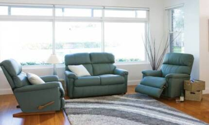 Leather Jason Lazyboy 3 piece suite Broadbeach Waters Gold Coast City Preview