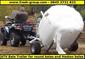 ATV BALE TRAILER. ATV QUAD BIKE SINGLE BALE TRAILER. MORE MODELS AVAILABLE