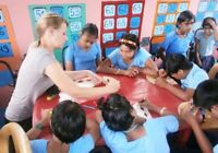 Teaching speech and hearing impaired children in India