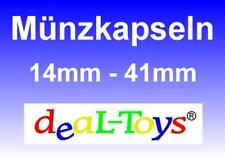 10 Münzkapseln 14-41mm - Münzdosen, Münzkapsel, Capsules, Coin Caps