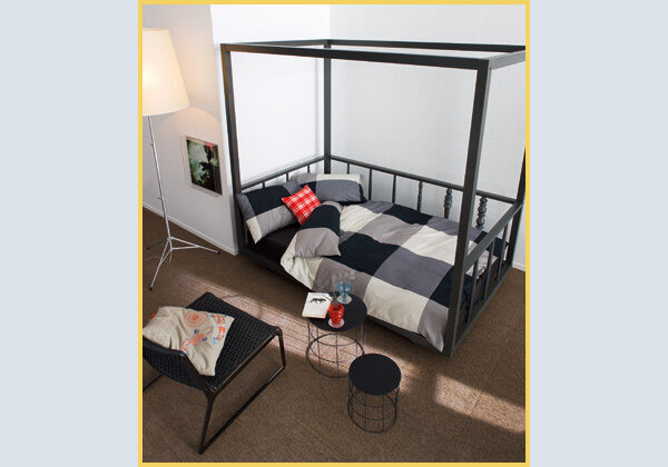 beautiful ikea ps veranda bed w mattress in gainsborough lincolnshire gumtree. Black Bedroom Furniture Sets. Home Design Ideas