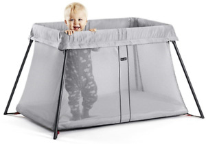 BabyBjorn Lightweight travel crib for comfortable infant sleep