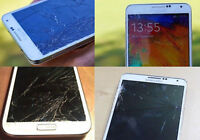 SAMSUNG GALAXY NOTE 2, NOTE 3 BROKEN SCREEN REPAIR - * $59 *