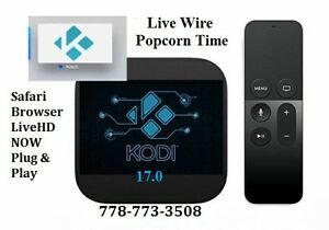 Brand NEW Apple TV4 32GB KODI 17.0, LiveHDNow, Safari, LiveWire