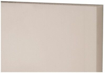 Made In Usa 24 X 12 X 1-14 Inch Acetal Plastic Sheet Natural