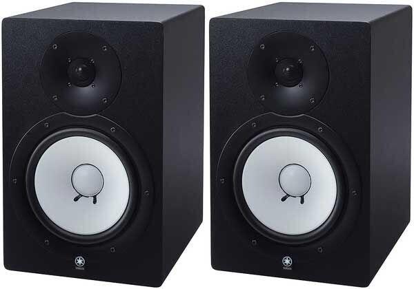 Yamaha hs80m active studio monitor pair of not hs8 but for Yamaha hs8 studio monitor speakers