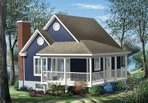 NEW $42,000,00 CONSTRUCTED 613 SQ FT COTTAGE ON YOUR LO0