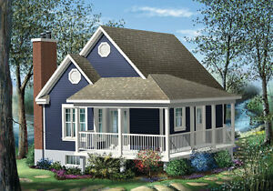 NEW $41,800,00 CONSTRUCTED 613 SQ FT COTTAGE ON YOUR LOT