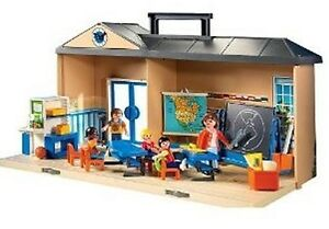 PLAYMOBIL® 5941 Mitnehm Schule / Take along school USA Set NEU