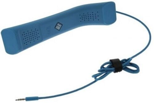 BLUE-Handset-Soft-Feel-Mobile-Phone-Computer-iPhone-iPad-Laptop-Voip-Skype