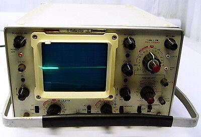 1066 Dual Channel - Ballantine 1066B Portable Dual-Channel Oscilloscope