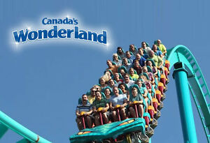 4 Regular Admission Passes for Canada's Wonderland
