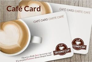 40% OFF SECOND CUP EMAIL MONEY TRANSFER/BITCOIN ACCEPTED