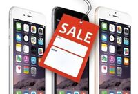 iphones SALE Starts @ 189.99 $ - Buy from a Store w/Warranty