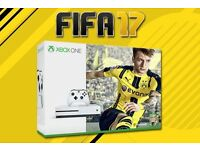 Brand New Xbox One S Edition White Console With FIFA 17, Brand NewThis has never been used or opened