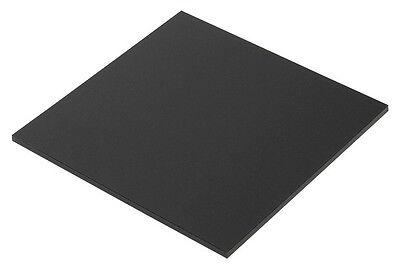 Black Mattefrosted One Side P-95 Acrylic Plexiglass Sheet 18 X 12 X 12