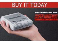 SNES Mini (Super Nintendo) Console New, Unopened and Boxed