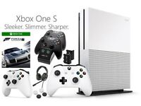 XBOX ONE S 500GB 4K ULTRA HD BLUE RAY | WHITE + EXTRAS