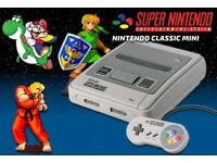 Super Nintendo (SNES) Classic Mini New and Unopened