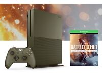 LIMITED EDITION XBOX ONE S (1TB) BATTLEFIELD 1 - NEW